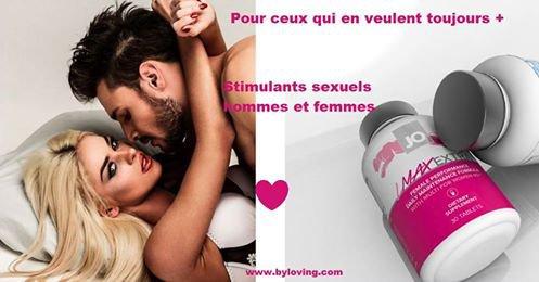 Gélules stimulantes aphrodisiaques au Love Shop Tours By Loving