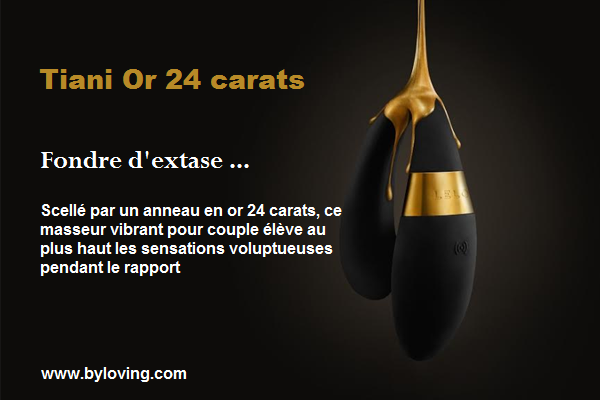 Lelo Tiani or 24 carats au Love Shop Tours By Loving