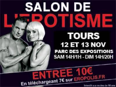Salon de l'érotisme Tours le 12 et 13 novembre 2016