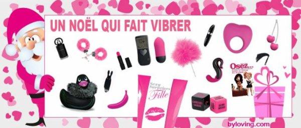 Cadeaux de Noël sexy et ludique au Sex shop Tours et Aix en Porovence By Loving