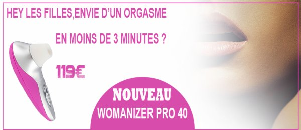 Womanizer Pro 40 au Love shop Tours By Loving