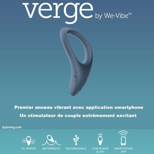 We Vibe Verge anneau vibrant avec application smartphone