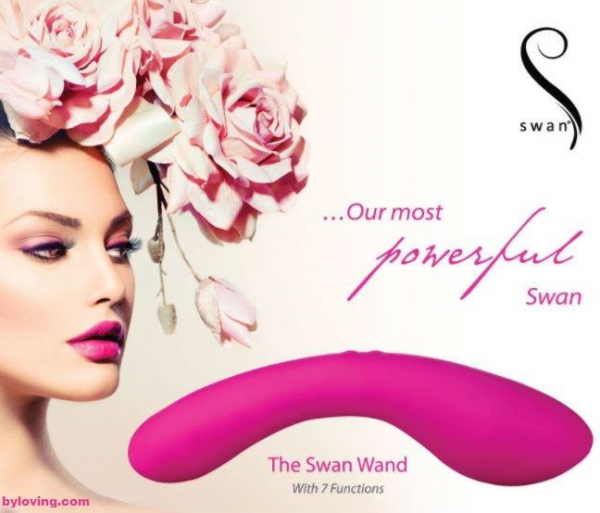 Vibromasseur The Swan Wand au sex shop Tours By Loving
