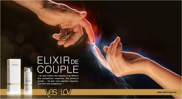 Un Elixir de couple YesforLov pour des stimulations femmes et hommes