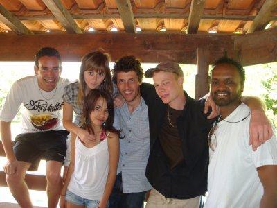 Aurélien,Floriane,Moi,Adriien,Yann & Omar.