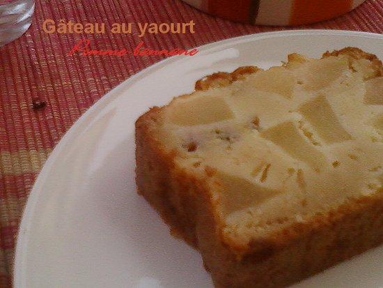 Sucre Gateau Au Yaourt Pomme Banane Parce La Gourmandise Est Un