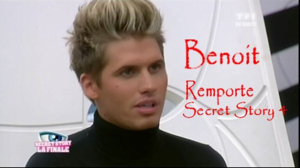 BENOIT GAGNE SECRET STORY 4