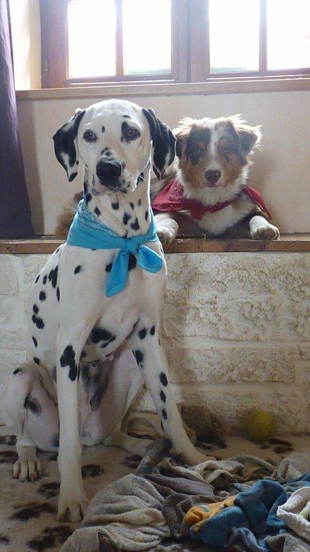 Photo avec sa soeur Luscan