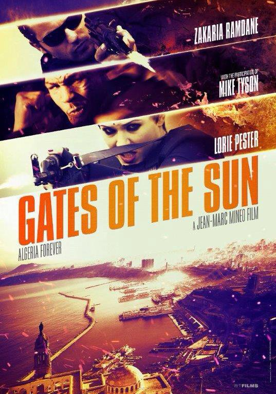 "Affiche du film ""Gates of the sun"" ."