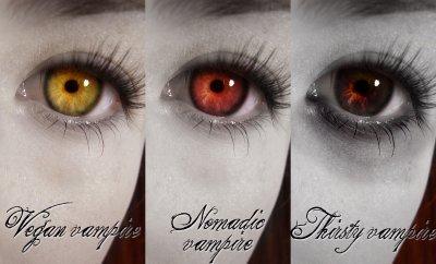 les yeux de vampire
