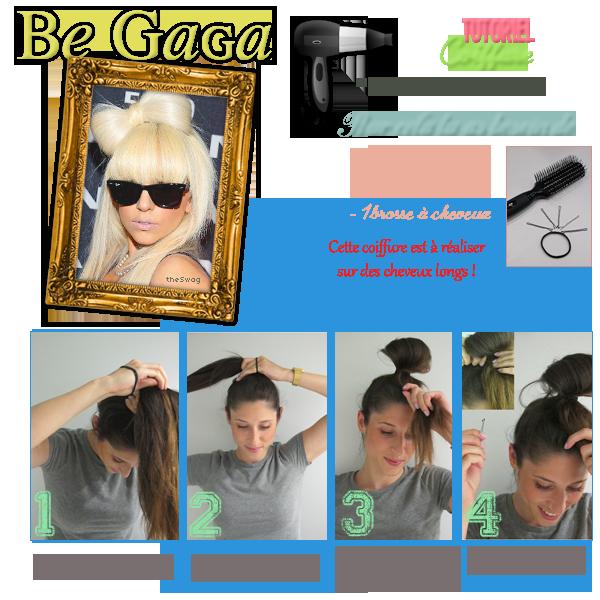 Tutoriel Hair Le Chignon-Noeud de Lady GagaDATE: 20/08/11