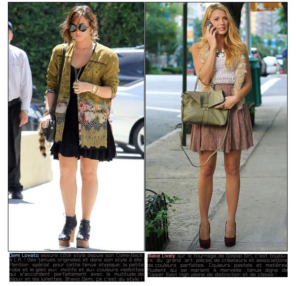 Weekly Swag  Les looks de la semaine , fin d'étéDATE: 03/09/11