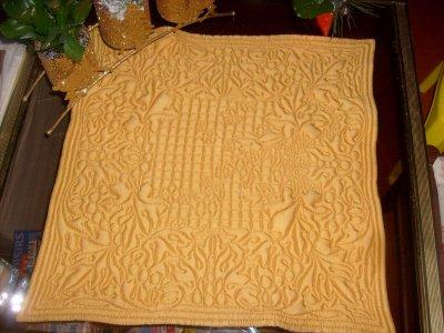 un superbe boutis en soie réalisé par coco