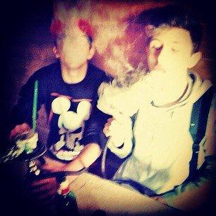 moi et mon ami <3