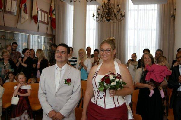 Il y a 1 an >>> Oui Pour la Vie :) - Bon Anniversaire de Mariage ma Noëmie d'Amour