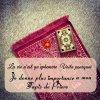 """""""La vie n'est qu'éphémère Voila pourquoi je donne plus importance a mon tapis de priere ♥ El hamdoulilah ♥"""