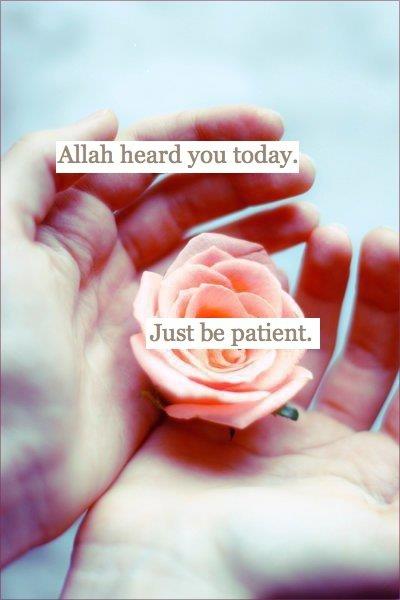 Qatâdah a dit : « La patience est pour la foi, comme les mains pour le corps : celui qui n'est pas patient dans l'épreuve, n'est pas reconnaissant dans le bienfait; et si la patience était un homme, ce serait un homme généreux et beau. »  [As-Sabr (163)]