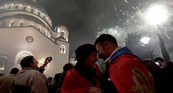 Doček 2017 Srpske Nove Godine u Beogradu