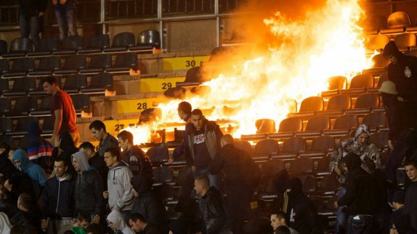Sutra/Demain : Match derbi plej of Crvena Zvezda - PartizanBG. On va enmettre encore plein la gueule aux Delije!!!