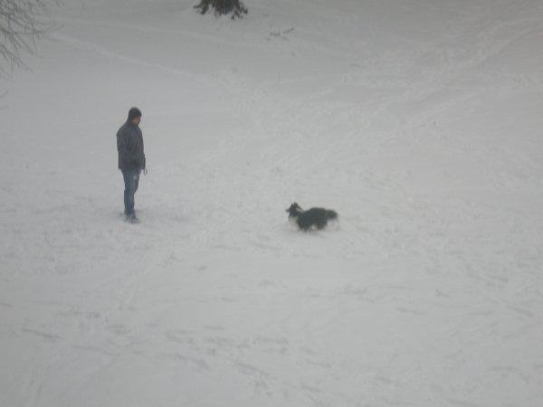 le 20 janvier 2013 : Gaara dans la neigne