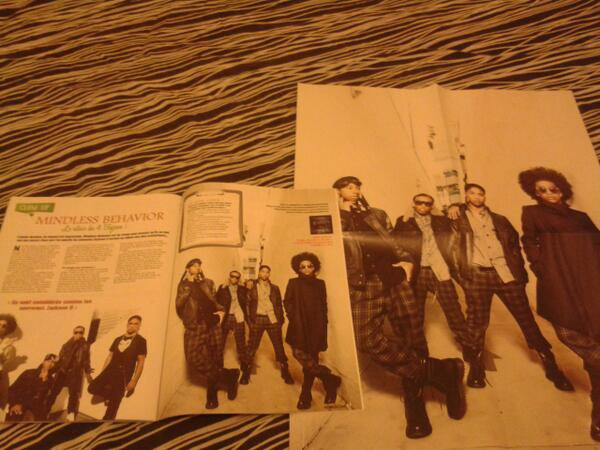 MB in French magazine!