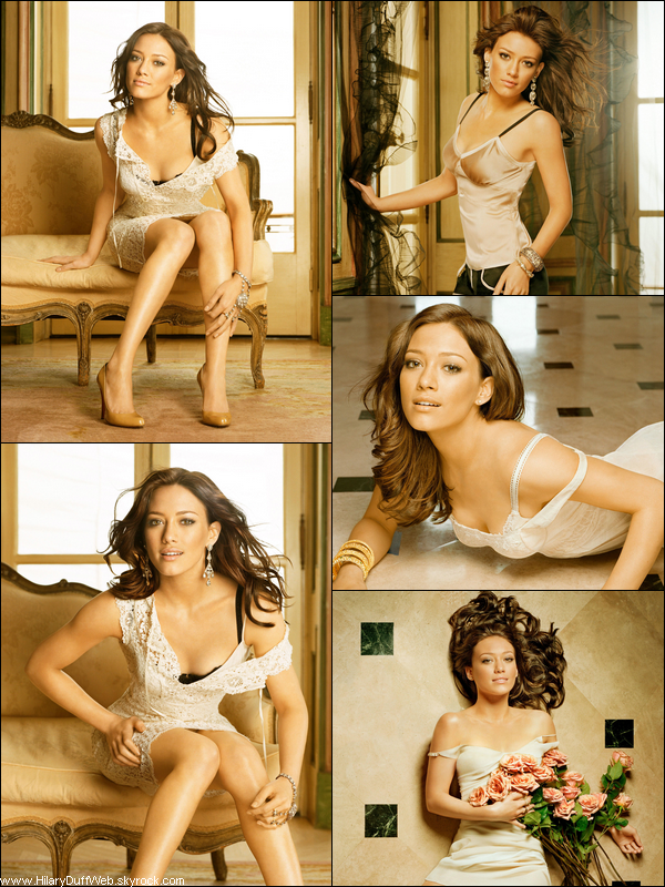 . FLASHBACK ~ Photoshoot de Hilary Duff pour le magazine Maxim datant de 2007. She was amazing ! .