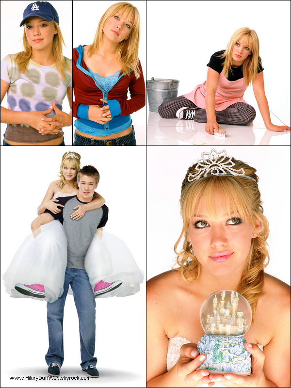 . FLASHBACK ~ Photoshoot promotionnel du film Comme Cendrillon datant de 2003. Film en streaming !    .