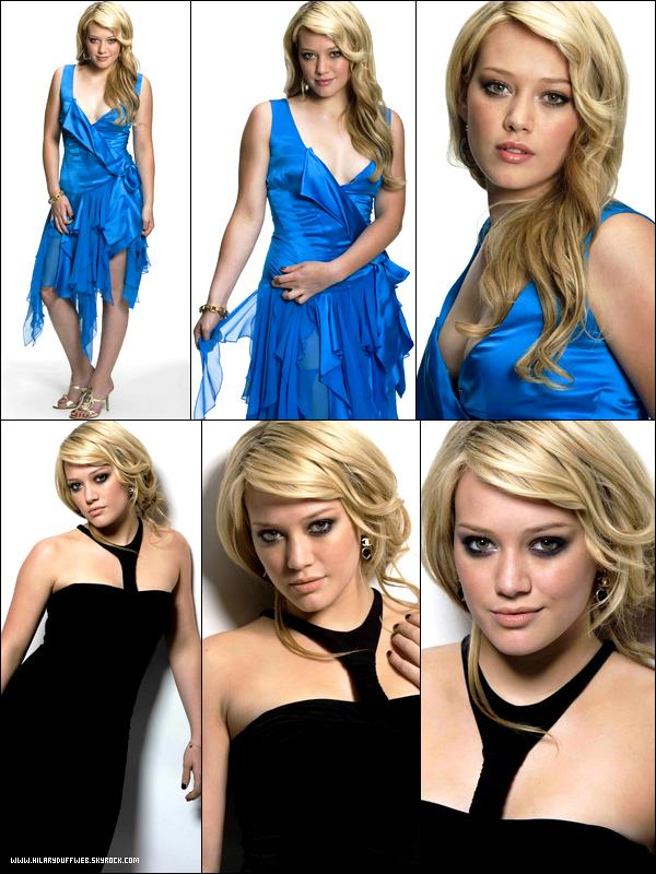 . FLASHBACK ~ Photoshoot de Hilary Duff réalisé par Jeff Vespa datant de 2004. Déjà glam' à cet âge-là ! .