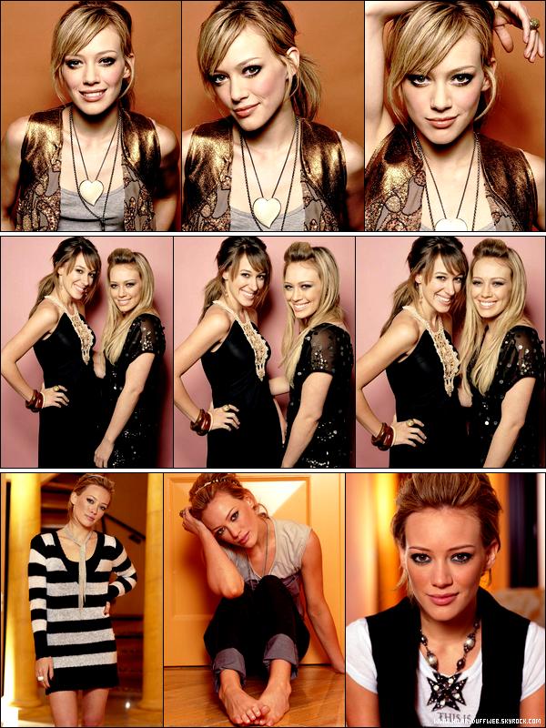 . FLASHBACK ~ Trois photoshoots de la Duff réalisés par des photographes professionnels et datant de 2005. .
