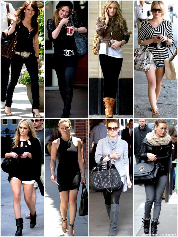 .  Grâce à HilaryDuffWeb, adopte un look assez simple mais fashion comme Hilary Duff !    . Bien qu'elle nous habitue le plus souvent à porter un look pire que simple et sans grande touche d'originalité, Hilary Duff est tout de même sortie avec des tenues bien belles passant du style simple mais classe au style fashion. Adieu les fautes de goûts pour la mode et utilisez alors un look simple bordé par de parfaits accessoires tel qu'un sac en cuir ou alors de belles chaussures adéquates avec votre tenue et qui rend ainsi le tout au top. Oubliez alors vos plus grands préjugés sur le style vestimentaire de la Duff, et admirez quelques-unes de ses plus belles tenues... Qui a dit qu'Hilary Duff n'était pas à la pointe de la mode ? Certainement plus grand monde !  . Aimes-tu le style vestimentaire d'Hilary Duff ? Et surtout quelle est ta tenue préférée ?!    .