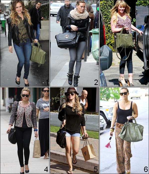 .  Selon toi, quel est le grand TOP de la Duff en candid et en apparition publique en 2011 ?    . Habituée à porter des tenues bien plus que simples lors de ses candids, Hilary a parfois étonnée la presse ainsi que ses fans en abordant des tenues classes, chics et distinguées mais bien évidemment tout en restant dans la simplicité alors qu'en apparitions publiques, la Duff ose plus les tenues coquètes et féminines; bien q'un peu trop modestes. Dans l'ensemble, on ne peut pas dire qu'elle soit un icon de la mode mais son style vestimentaire reste tout de même à suivre grâce à ses accessoires ainsi qu'à la facilité de reproduire son look car nous le savons tous, Hilary Duff est avant tout une star ainsi qu'une femme simple...  .