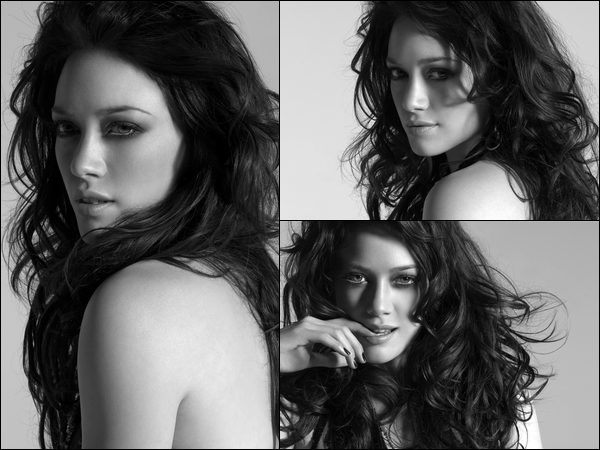 . FLASHBACK ~ Shoot d'Hilary Duff datant de 2007 pour l'édition collector de l'album « Dignity ». Une beauté pure ♥ .
