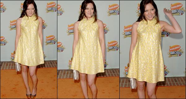 """. FLASHBACK (31 Mars 2007) ~ H. assistant le sourire aux lèvres à la 20° cérémonie des """"Kids' Choice Awards"""" à L.A. ! ."""