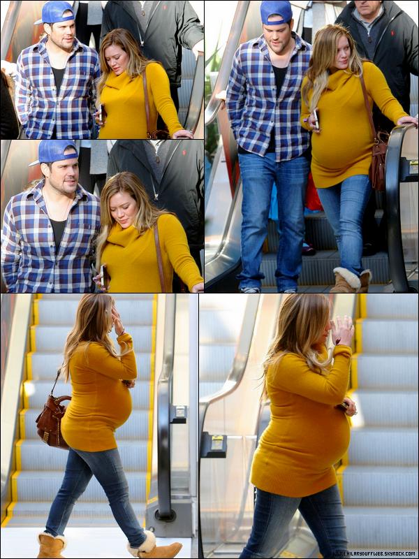 .  Jeudi 16 Février : La future belle maman se rendant de mauvaise humeur à un rendez-vous professionnel dans Beverly Hills...   Dimanche 19 Février : Hil' se rendant en compagnie de Mike dans un cinéma situé dans un centre commercial de Los Angeles....