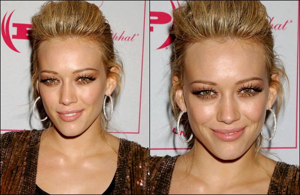 """. FLASHBACK (13 Août 2005) ~ Hilary présente en compagnie de sa grande soeur Haylie au """"Teen People Young Hollywood"""" à L.A. ."""