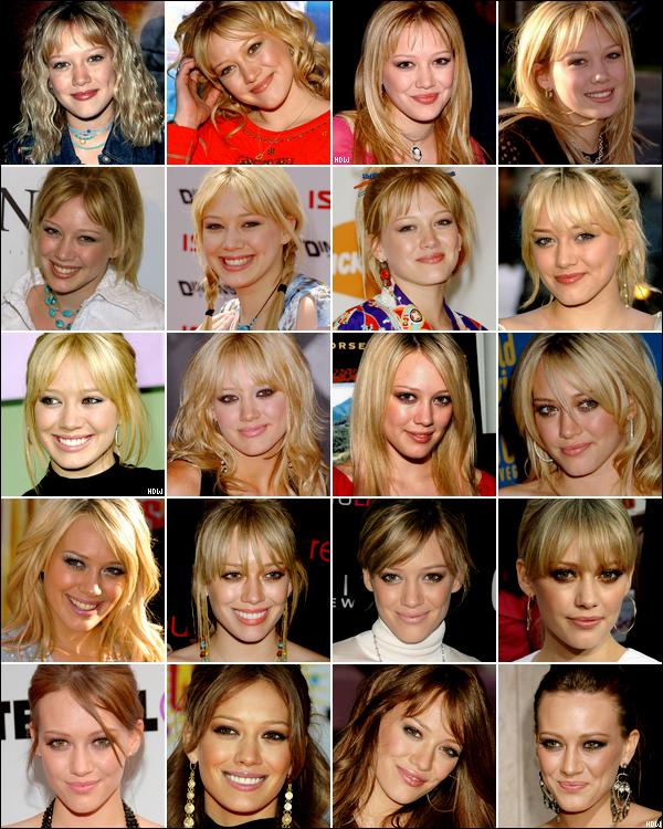 . → Inédit sur HDW ! Hilary Duff : son évolution de femme-enfant à femme-maman en 12 ans de carrière. ♥ .
