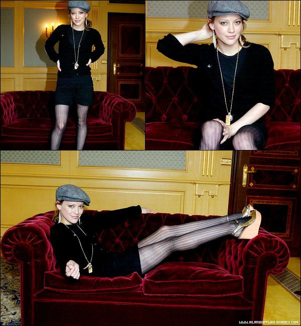 . FLASHBACK  ~ Deux photoshoots portrait de la Duff datant de 2006 et réalisés par deux photographes inconnus... .