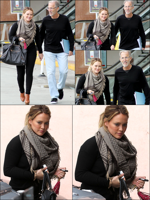 . J. 26 Avril : Journée chargée pour la Duff à Beverly Hills : déjeuner d'affaire dans la matinée puis cours de pilates dans l'aprem'. .