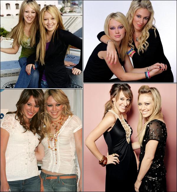 . → Inédit sur HDW ! Hilary et Haylie Duff : bien plus que de simples soeurs, de véritables meilleures amies. .