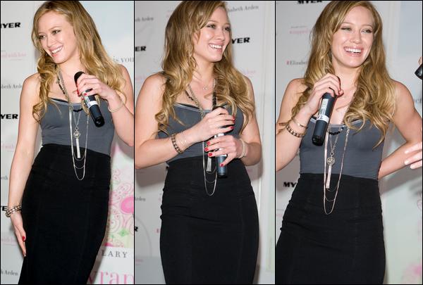 . FLASHBACK (02 Février 2008) ~ H. participant à une conférence de presse pour son parfum « With Love » à Sydney, en Australie. .