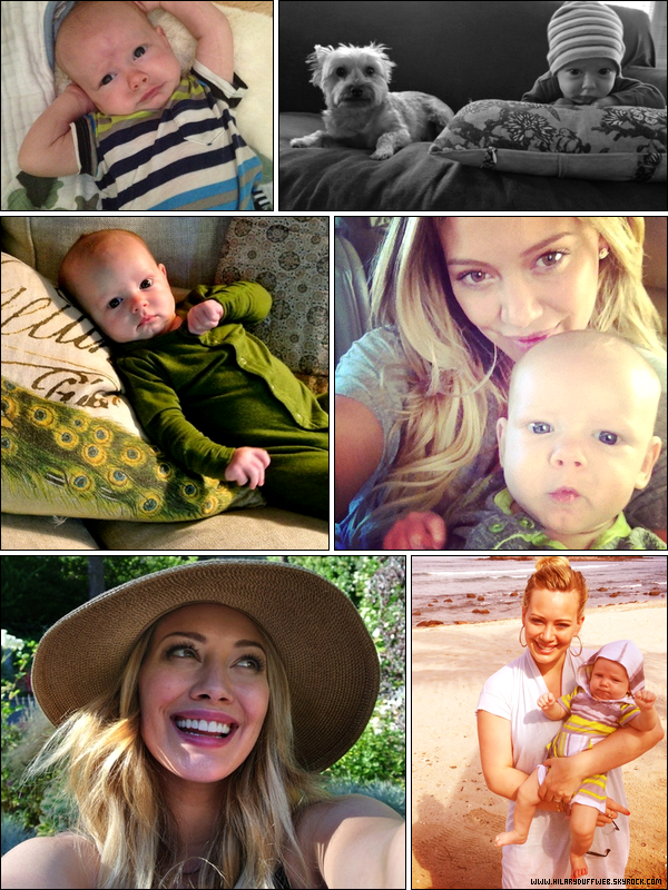 . → Notre jeune maman Hilary, nous partage son bonheur avec des photos d'elle et de son fils Luca Cruz C. ♥ .