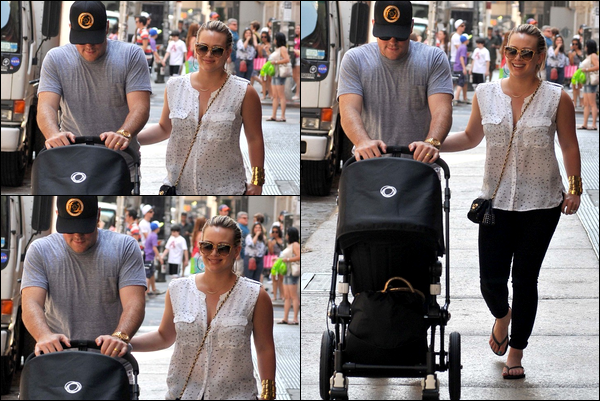 . Jeudi 12 Juillet : Notre charmante famille se promenant dans les rues de New York + Photo de la Duff pour la marque « Nikon »..