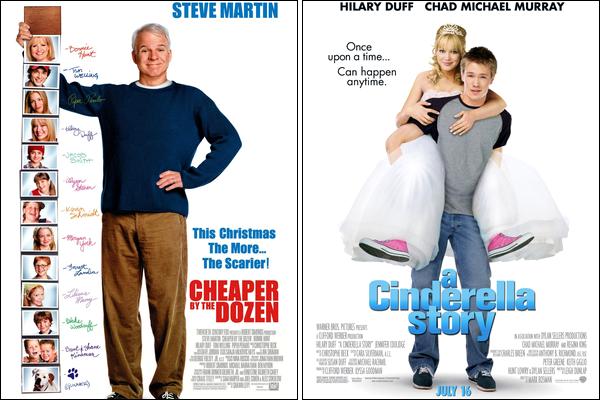 .   Dossier spécial en exclusivité sur HDW : Hilary Duff en 10 ans de carrière au cinéma...    . Son tout premier rôle principal dans un film date de 1998, où elle donne la réplique au célèbre fantôme Casper dans « Casper et Wendy ». Après sa consécration en tant qu'actrice TV grâce à la série « Lizzie McGuire », Hilary se lance dans le milieu impitoyable du cinéma en commençant par des petits films tel que « Cadet Kelly » pour Disney Channel en 2002 ou encore « Cody Banks, Agent Secret » en 2003. La même année sort le film sur la série « Lizzie McGuire » et c'est à ce moment là qu'elle commence à placer son nom dans les productions Hollywoodiennes. En 2003, nous pouvons aussi la voir dans « Treize à la Douzaine » et en 2004, elle se retrouve à l'affiche de deux films au cinéma qui sont « Comme Cendrillon » et « Trouve Ta Voix ». En 2005, « L'homme Parfait  » sort au cinéma suivi de « Treize à la Douzaine 2 » qui rencontre un succès mitigé. Puis dès 2006, alors que sa carrière cinématographique commence à s'accélérer, elle subit un énorme échec avec « Material Girls ». Depuis ce moment là, les portes d'Hollywood se sont fermées et elle commence à jouer dans des films indépendants comme « War, Inc » en 2008, « What Goes Up », « According to Greta » ainsi que « Stay Cool » en 2009. En 2010, elle fait un retour à la télévision avec le téléfilm « Beauty & The Briefcase » pour la chaîne ABC Family et revient au cinéma avec « Bloodworth » en 2011. Son dernier film en date est « She Wants Me » ; celui-ci n'a eu aucune promotion et est sorti dans des salles limitées au cinéma en Février 2012...  . Dis moi tout, as-tu vu Hilary Duff dans certains de ces films et si oui, les as-tu appréciés ?     .