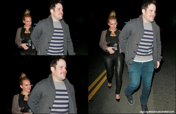 . 29/12/12 : Madame Duff faisant quelques courses à Los Angeles. Limite, on croirait presque qu'elle est de nouveau enceinte....
