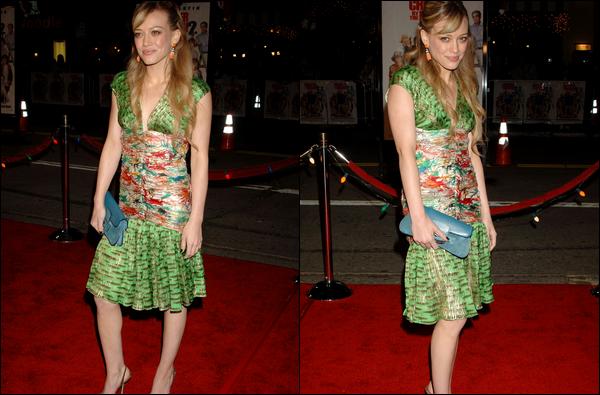 . FLASHBACK (13 Décembre 2005) ~ La Duff présente lors de la première de son film « Treize à la Douzaine 2 » à New York ! .