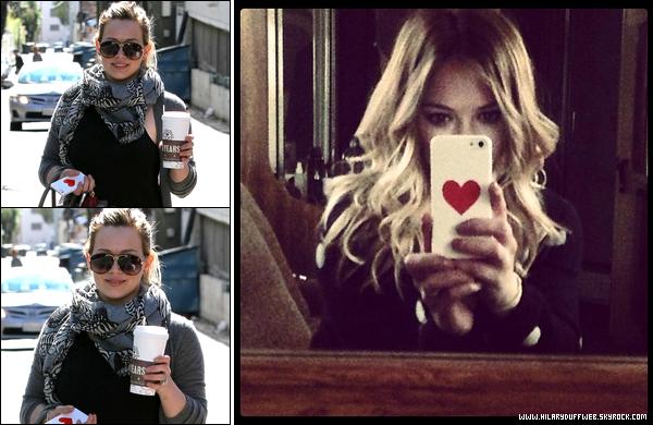 . 03/02/13 : La maman Duff se rendant vers un salon de beauté pour une séance de manucure et pédicure; à Beverly Hills....