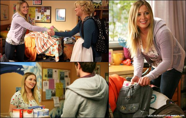 """.  Hilary Duff : guest star dans l'épisode 20 de la saison 3 de la série américaine « Raising Hope » !    . Comme je l'ai annoncé il y a déjà quelques semaines, Hilary a participé dans un épisode de la sitcom « Raising Hope »; actuellement diffusée sur la chaine FOX. Intitulé """"The Old Girl"""", l'épisode se concentre sur l'ancienne relation de Jimmy (Lucas Neff) et de Rachel (Hilary Duff) ainsi que de la raison de leur rupture. En couple lorsqu'ils étaient à l'université, ils se retrouveront quelques années plus tard et seront confrontés à d'étranges révélations... L'épisode a rassemblé 3,2 millions de téléspectateurs et bonne nouvelle pour les fans puisque la série a récemment été reconduite pour une 4ème saison ! Si vous souhaitez visionner cet épisode, cliquez ici ou ici.  ."""