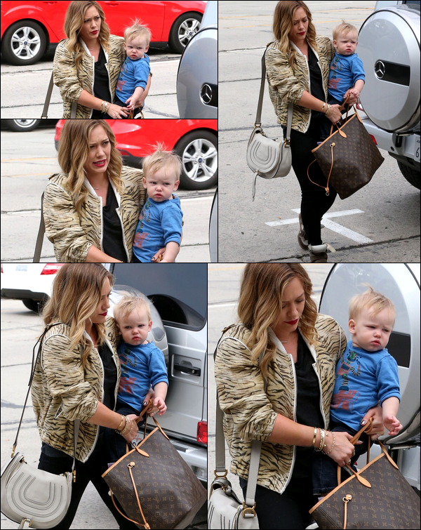 . 03/03/13 : Maman Hilary sortant avec son bébé dans les rues de d'Hollywood afin d'y faire quelques achats. _TOP ou FLOP ?.