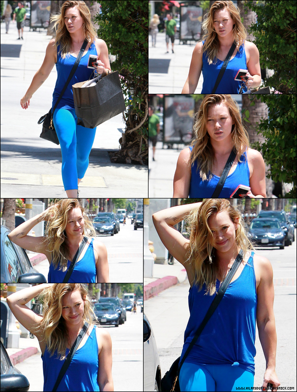 . 15/06/13 : Petit aprem' en famille pour les Duff-Comrie. Au programme : déjeuner et shopping dans les rues de Los Angeles....