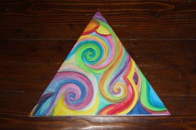 Toile triangulaire